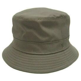 ポイント5倍以上! エルメス 帽子 H082015N85 HERMES ソルド ハット CHAPEAU JAMES BRODERIE H ナイロンxコットン ベージュ サイズ56 あす楽対応
