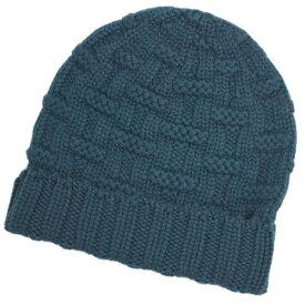 エルメス 帽子 H152080NK5 HERMES ソルド メンズ ニットキャップ カシミア100% FLANEUR PRUSSE プルシアンブルー