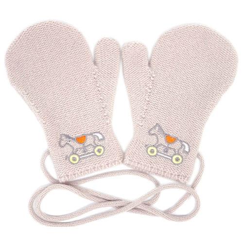 エルメス ベビー H102356M01 HERMES ソルド 手袋 ミトン アダダ カシミア100% ノワゼット あす楽対応