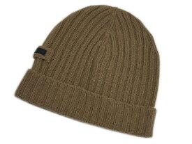 プラダ 帽子 UMD188 PRADA ニットキャップ カシミア/ウール ALBINO アルビノ ベージュ サイズ:M アウトレット
