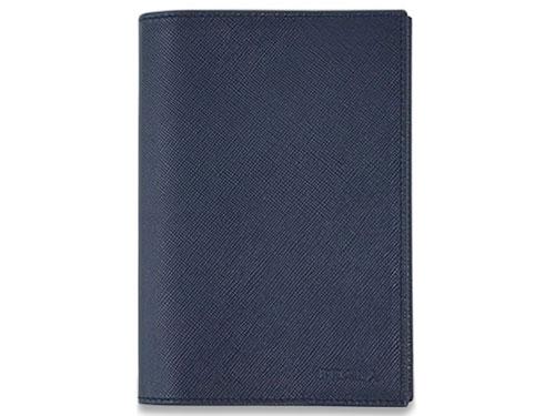 プラダ パスポートカバー 2M1357 PRADA カードケース サッフィアノ BALTICO バルティコ カーフネイビー アウトレット