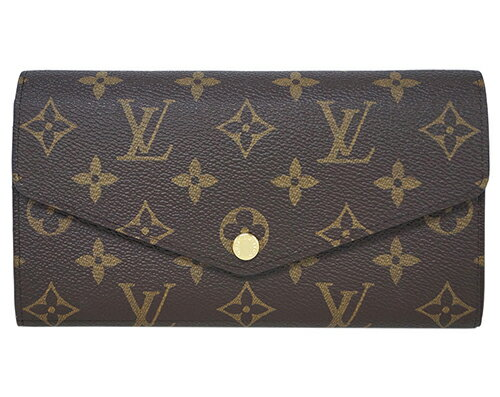ルイヴィトン 財布 M62234 LOUIS VUITTON ヴィトン LV モノグラム ファスナー長札 ポルトフォイユ・サラ フューシャ