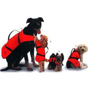犬用ライフジャケット ドッグフロートベスト XS
