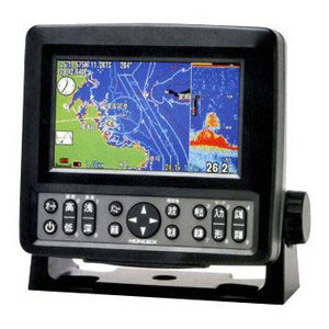 ホンデックス HE-601GPII 5型ワイドカラー液晶GPS魚探