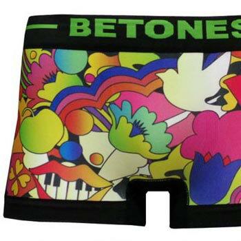 BETONES[ビトーンズ]ボクサーパンツPEACE2-PE002-