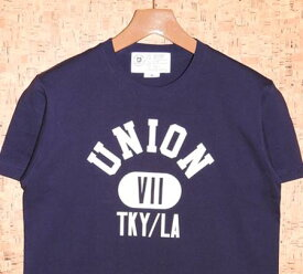 7UNION [セブンユニオン] TシャツIPVW-013C PROPERTY OF 7UNION TEE