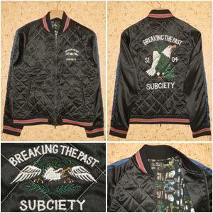 SUBCIETY [サブサエティ] ジャケットSBF5192 SKA JKT -BREAKING THE PAST-