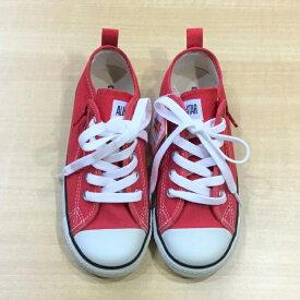 コンバースチャイルド オールスター 19.0cm CONVERSE CHILD ALL STAR 子供 女の子 男の子 キッズシューズ Red レッド 赤色 3CK552
