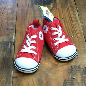 美品新品未使用 ベビーオールスター NZ 14.0cm コンバース オールスター CONVERSE ALL STAR 子供 女の子 男の子 ベビーシューズ 7CK556 レッド 赤色