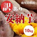 【等級/A品】 鹿児島県産 訳あり安納芋 生芋 10kg 土付    蜜芋 安納 さつまいも 送料無料 紅はるかもあります。産地直送