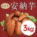 【産地直送】鹿児島産 安納芋 生芋3kg 【蜜芋 安納 さつまいも】送料無料