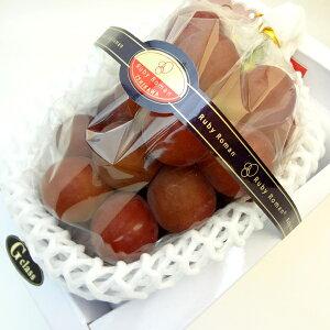 石川県産ぶどう ルビーロマン 秀品・G 1房入り (500〜700g) 赤葡萄の中で粒の大きさが最大級!爽やかな甘さとジューシーな味が特徴の石川県で生まれたブランド品種 出荷予定:8月上旬