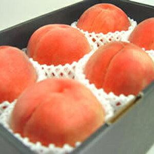 【送料無料】 山梨県産 桃 6玉 化粧箱入り センサーで糖度を測定し最も高い基準をクリアしたプレミアムピーチ、大糖領 日川白鳳、白鳳、加納岩白桃、浅間白桃、一宮白桃、川中島白桃と