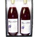 ブルーベリージュース (ストレートジュース) 2本セット お中元ギフトにおすすめ