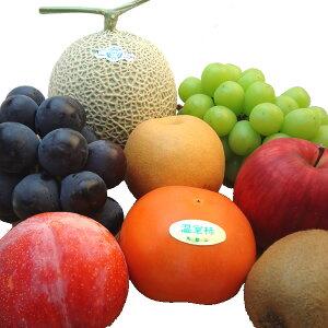 季節のフルーツ詰合せ いろいろな味が楽しめるフルーツセット 旬のフルーツをチョイスしてお届け 静岡県産マスクメロンが必ず入る詰め合わせ 母の日ギフトにおすすめ
