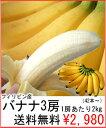 フィリピン産バナナ3房6kg(40〜50本)