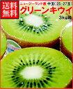 お中元ギフト対応可ゼスプリキウイフルーツ完熟グリーンキウイ約3kg箱(中玉25-27個)