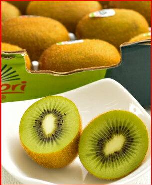 ゼスプリキウイフルーツ完熟グリーンキウイ約3kg箱(中玉25-27個)