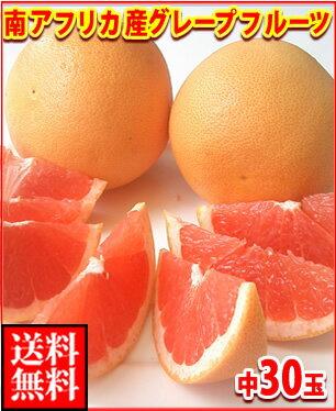南アフリカ産グレープフルーツ赤中30玉送料無料\6,480