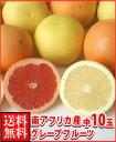 南アフリカ産紅白グレープフルーツ中10玉送料無料¥2,480