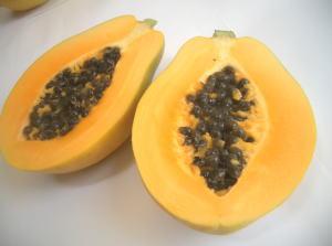 ハワイ産パパイヤ 8〜10玉