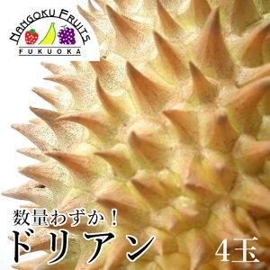 【予約販売・数量限定】タイ産 ドリアン4玉