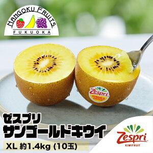 【送料無料】ゼスプリ・サンゴールドキウイ XL約1.4kg (10玉)