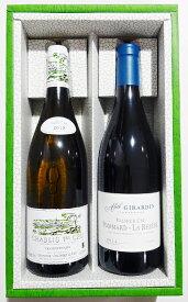 フランスワインセット NO34シャブリ モンマン(ヴォコレ)白&ポマール 1er ラ・ルフェーヌ(アレット・ジラルダン)赤