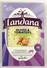 ランダナ トマト&オリーブ スライスチーズ 150g