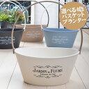 バスケット プランター 鉢 選べる4色 寄せ植え用 花苗用 球根用 におすすめ※苗は含みません。鉢のみです。