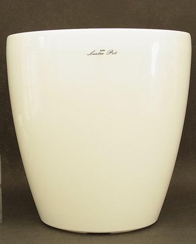 【鉢カバー】ラスターポット370型 オフホワイト