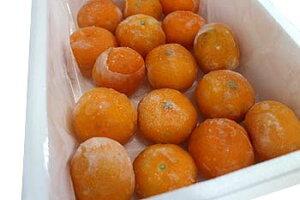 【訳あり】冷凍みかん・ワケあり旬柑氷結<愛媛みかん>約1kg