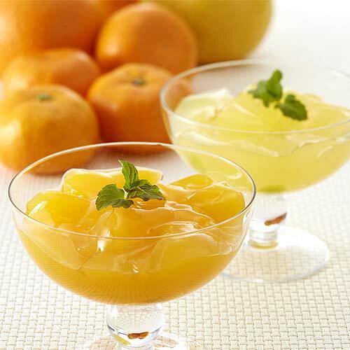 【送料無料】飲むゼリー「柑橘の雫」(飲むみかんゼリー詰合せ)16種類(32個入)(バラ詰め・家庭用)」