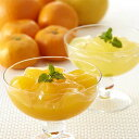 【送料無料】飲むゼリー「柑橘の雫」(飲むみかんゼリー詰合せ)12種類(24個入)(バラ詰め・家庭用)」
