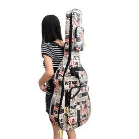ギターケース 星条旗 USA 国旗 ギグバッグ アコースティックギター ソフトケース 収納 バック おしゃれ アメリカン 106cm