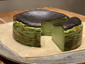 (福岡の人気店)(濃厚チーズケーキ)(数量限定)Mini Basque(matcha)【ミニバスク(抹茶)】チーズケーキ