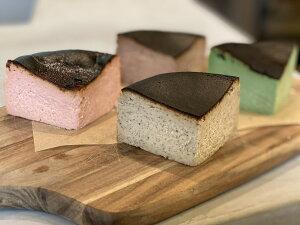 (福岡の人気店)(濃厚チーズケーキ)(数量限定)ミニバスク4種食べ比べセット【チーズケーキ】