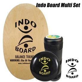 【送料無料】 INDO BOARD MultiSetインドゥボード マルチセット[HOW TO DVD付]サーフィン オフトレーニングバランスボード エクササイズSTAY HOME お年玉