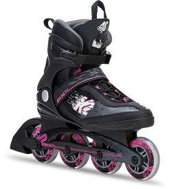 K2インラインスケートKinetic 80 Pro BLACK/PINKインラインスケート ローラースケートローラーブレード【I180202201】【送料無料】