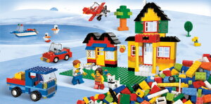 LEGOレゴブロック5508レゴ(R)基本セット青のコンテナスーパーデラックス【ブロックLEGOレゴ】