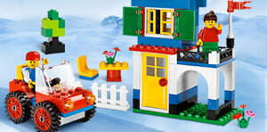 LEGOレゴブロック7615レゴ(R)基本セット青いバケツ【ブロックLEGOレゴ】【11Jan3P】