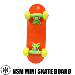 【5月上旬入荷】NSMミニスケートボードオレンジ【NEWSTREETMOVE】スケートボード乗用玩具