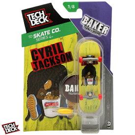 テックデッキ TECH DECK 96mm BAKER CYRIL JACKSON CHICKEN テックデッキ ベーカー シリル ジャクソン チキン【20073115】【指スケ フィンガーボード スケボー 】