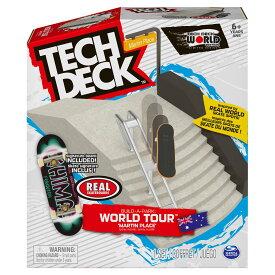 テックデッキ TECH DECK Build-A-Park MARTIN PLACE20124912 指スケ フィンガーボード スケボー スケートボード ランプ
