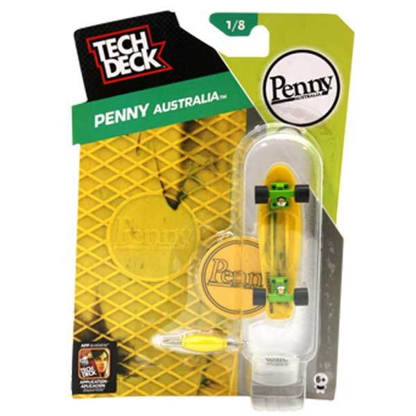 テックデッキ TECH DECK 96mm PENNY Marble Yellow Black ペニー マーブル イエローブラック【20049553】【指スケ フィンガーボード スケボー 】