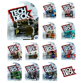 テックデッキ TECH DECK 96mm Vol.12シリーズ指スケ フィンガーボード スケボー スケートボード【STAY HOME】