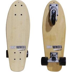 """TRYWHEEL CRUISER 21"""" Bamboo ライウィール 3輪スケートボード 【送料無料】"""