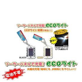 ソーラーecoライト ドラゴン インヤン ホワイト【ライト 携帯】