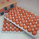 花たまご (80個)×2セット 【送料無料】 赤殻 赤がら 新鮮 Non-GMO ノンGMO ポストハーベストフリー PHF 飼…