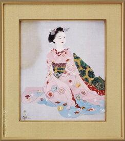 小倉遊亀 絵画 舞妓 送料無料 【複製】【美術印刷】【巨匠】【変型特寸】